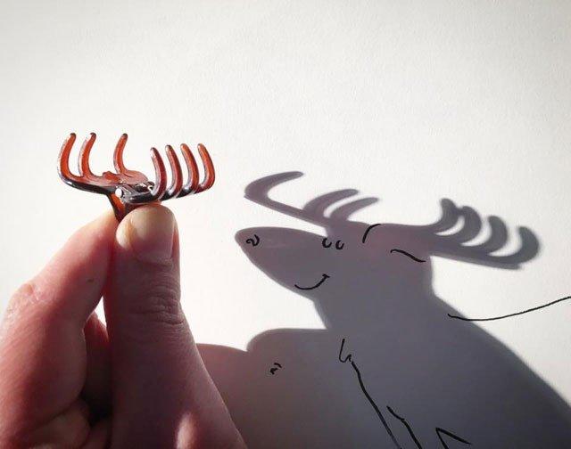 Игра с тенью от Винсента Баля (21 фото)