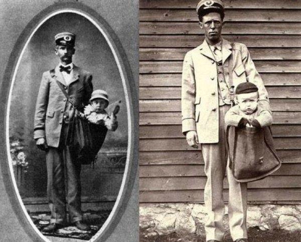 Пересылка детей по почте в США