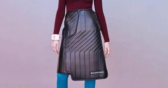 Эксклюзивная дизайнерская юбка за 2300 долларов (3 фото)