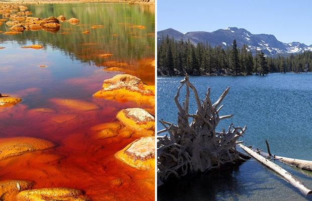 Самые ядовитые озёра мира (8 фото)