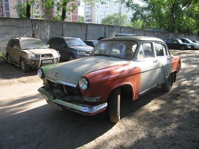 Отреставрированный ГАЗ-21 УС (22 фото)
