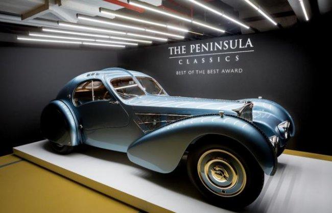 Авто - факт: Bugatti Type 57 был назван самым роскошным автомобилем в истории
