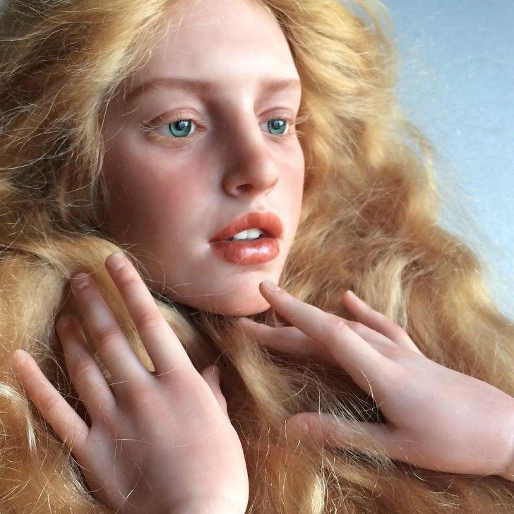 Живые куклы от Михаила Зайкова (15 фото)