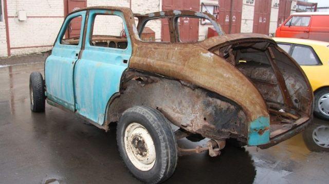Реставрация ГАЗ-20 «Победа»