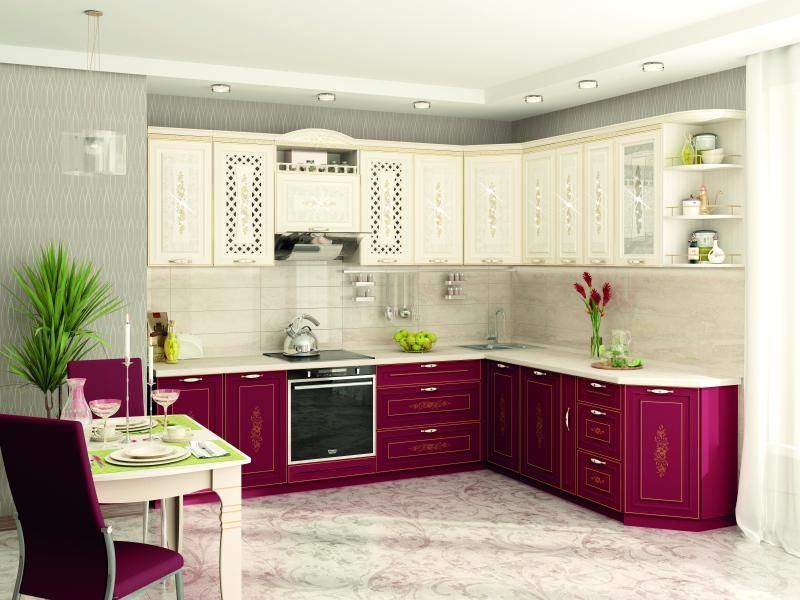 Кухни в Реутове: стильная мебель из массива дубового дерева