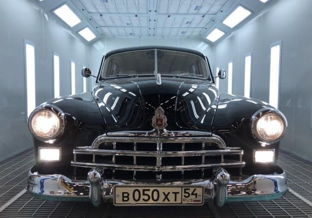 Уникальный ГАЗ-12 ЗИМ за 20 000 000 рублей (10 фото)