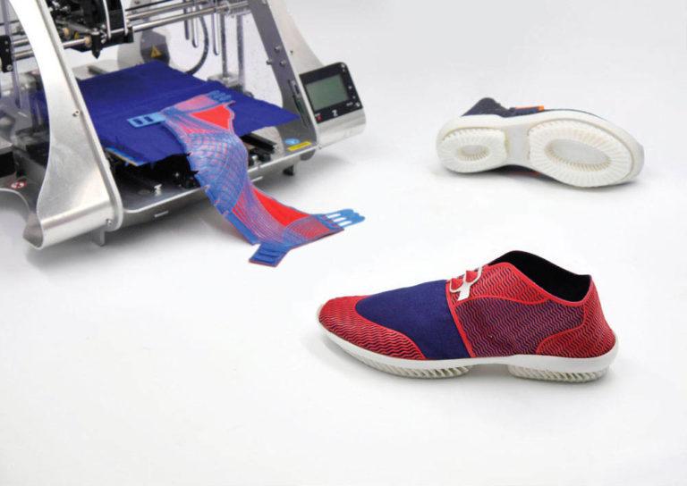 3D-печать в производстве обуви