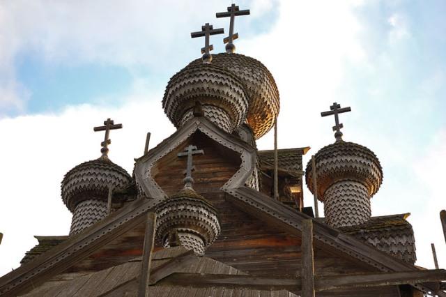 Необычные постройки из дерева