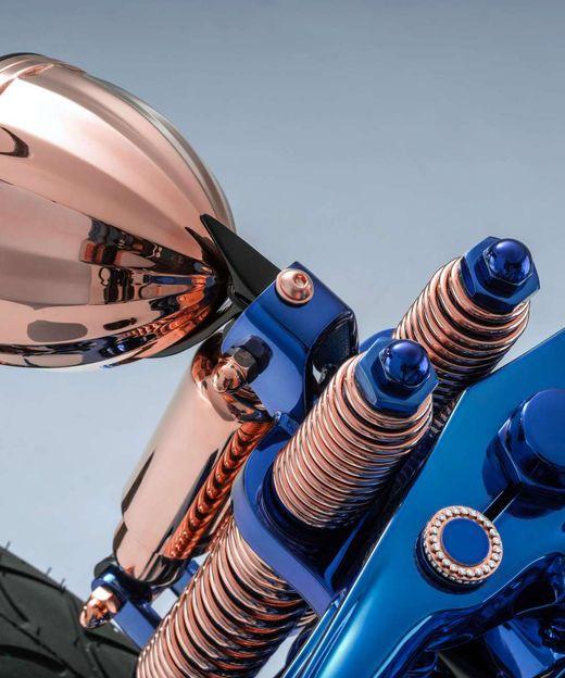 Авто - факт: самый дорогой мотоцикл в мире Harley-Davidson Blue Edition