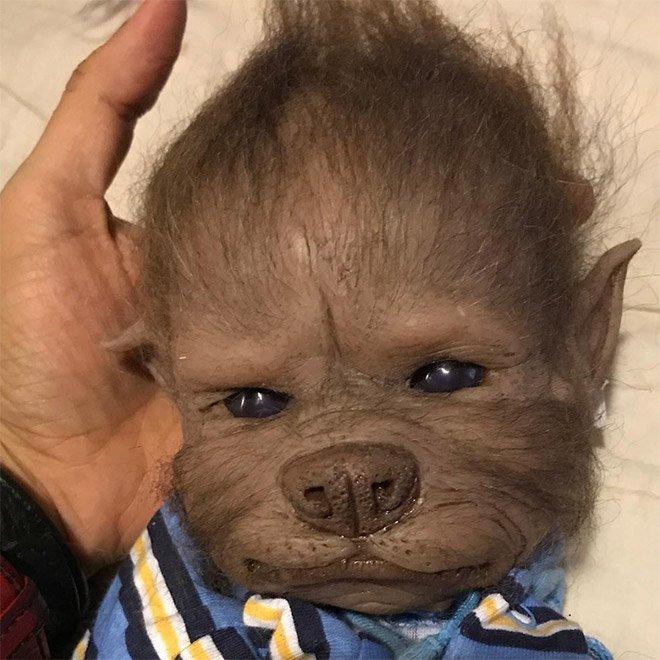 Верпупсы: художница создаёт потрясающе реалистичных детёнышей-оборотней
