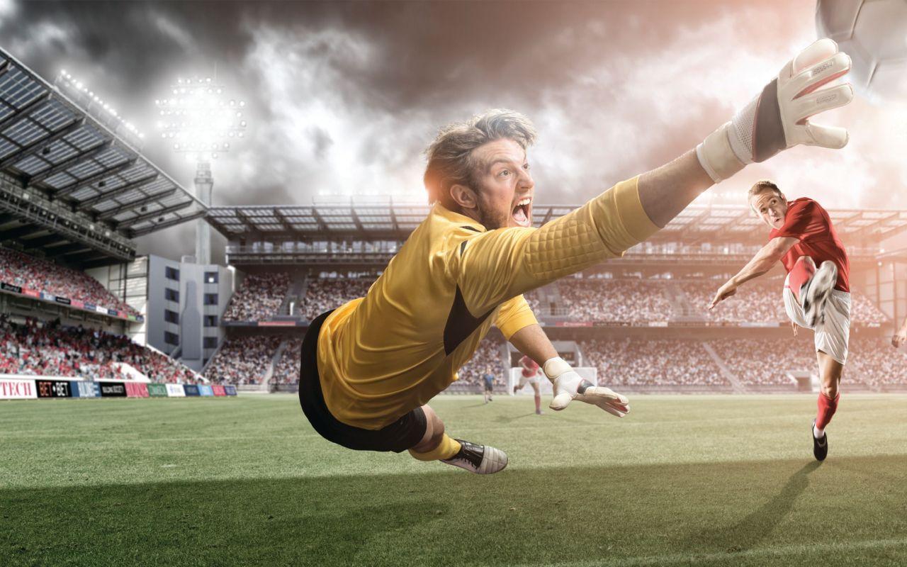 Красивые картинки про футбол, днем