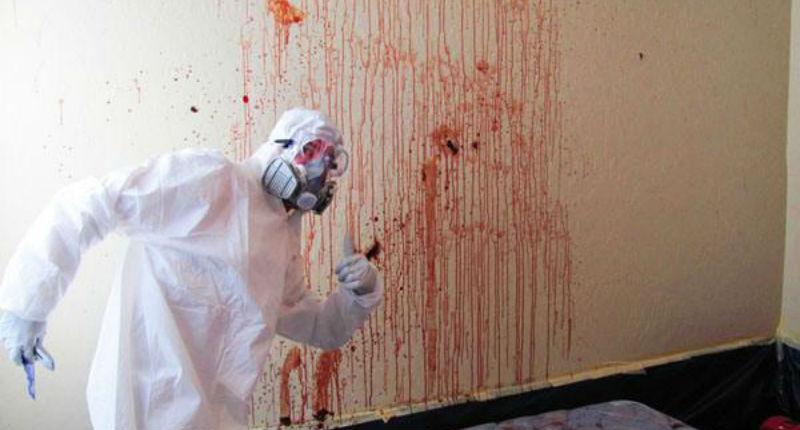 Как это: быть уборщиком помещений после убийств