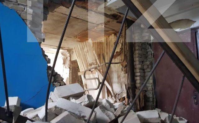 Последствия взрыва бойлера в квартире