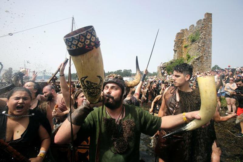 Ежегодный Фестиваль викингов в Катойре