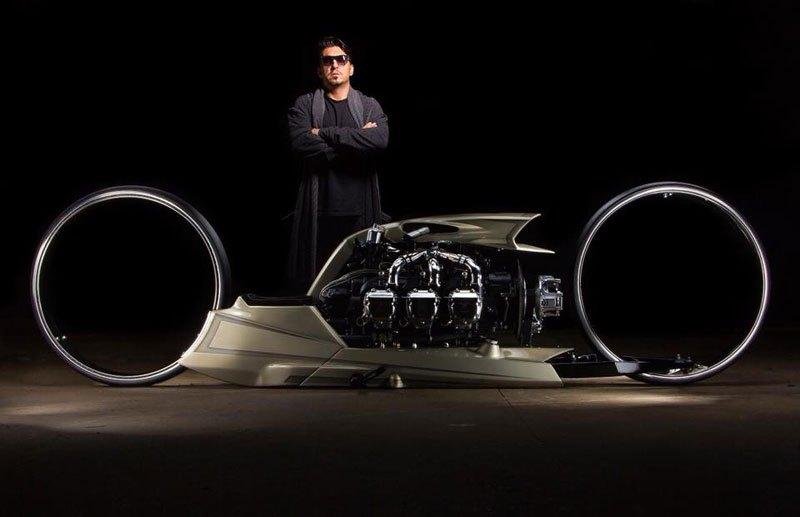 """Концептуальный мотоцикл """"TMC DUMONT"""""""