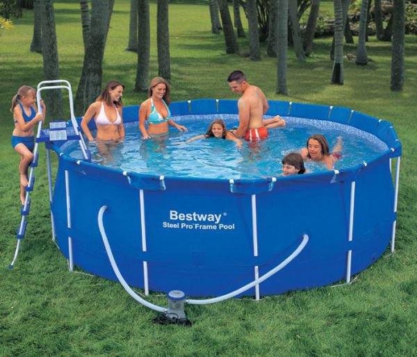 Когда каркасный бассейн не создает проблем пользователям?