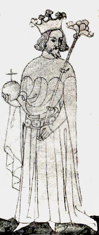 Чешский король Иоанн Люксембургский