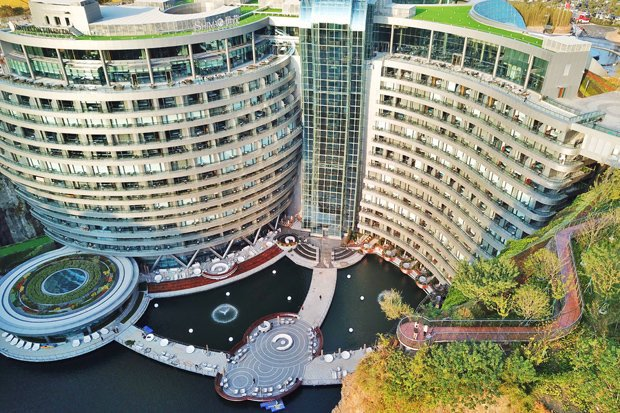 Наконец-то запущен знаменитый отель в Китае