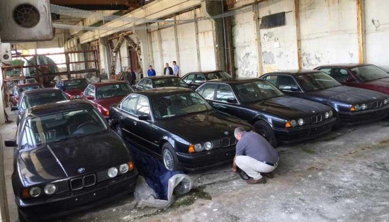 В Болгарии найдены 11 новеньких BMW 1994 года выпуска