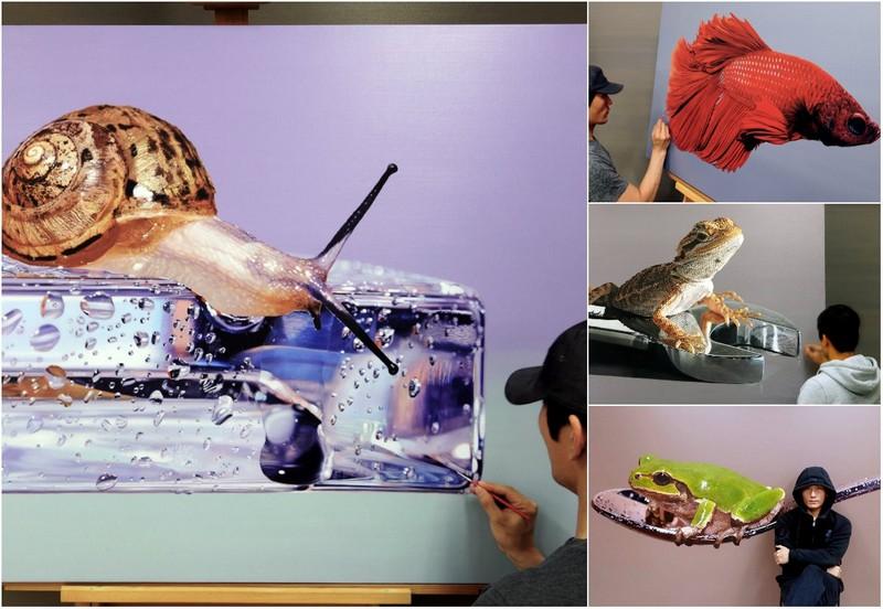 Гиперреалистичные картины от Ёнсун Ким (14 фото) 3
