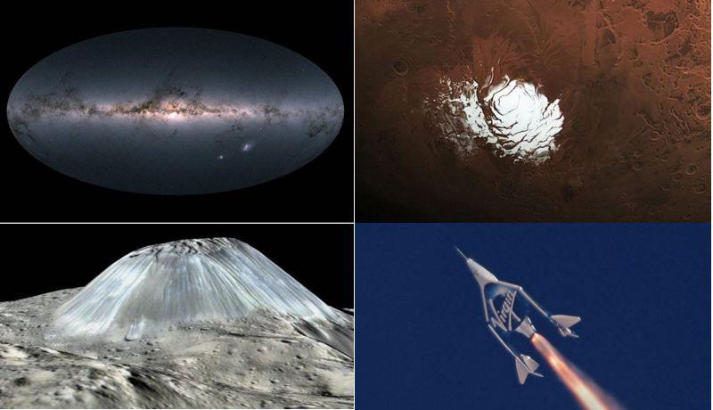 10 удивительных открытий в космосе 2018 года