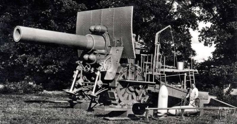 У кого больше пушка была на Первой мировой войне