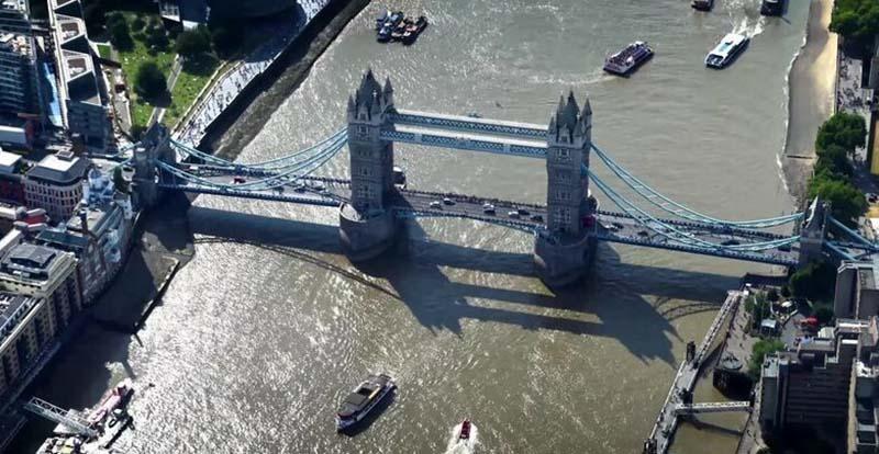 Англичане сбрасывают в Темзу огромное количество наркотиков