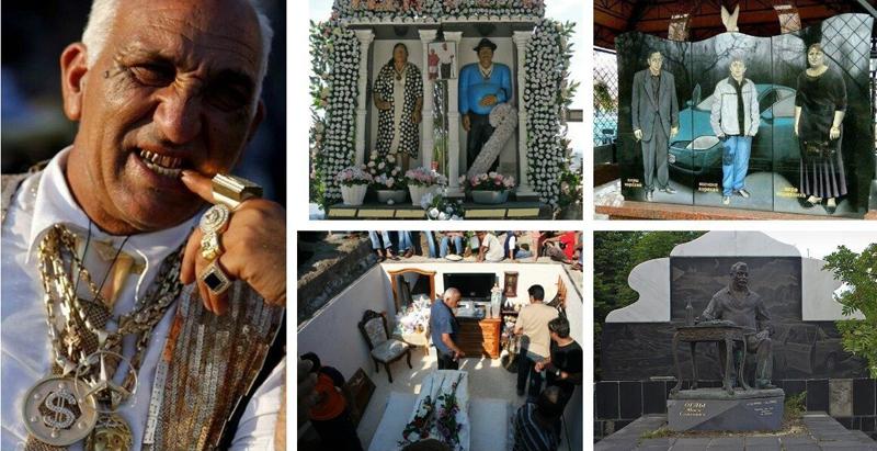 Цыганские похороны - зарытые дома и сокровища