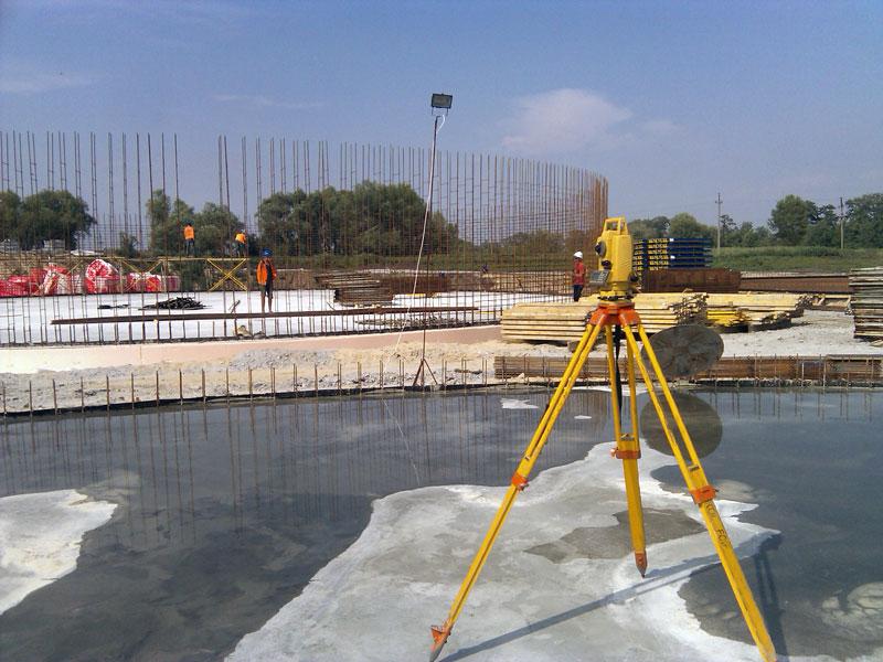 Основные формы геодезического сопровождения строительства