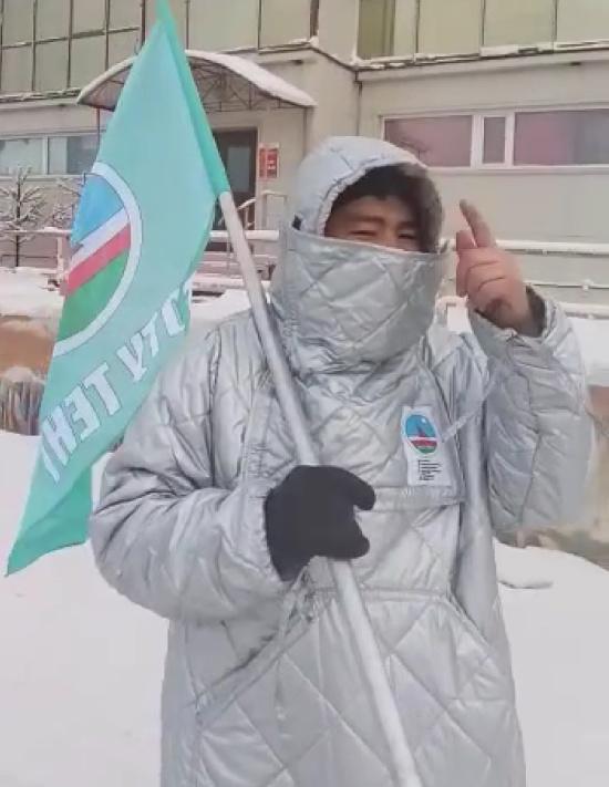 Костюм, в котором тепло в самый страшный мороз (4 фото)