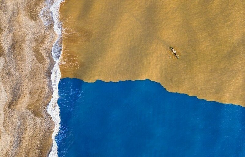Лучшие фотографии 2018 года, сделанные дронами