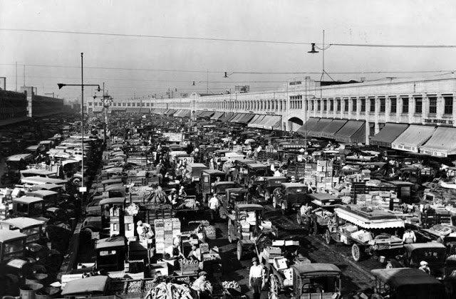 Пробки на дорогах 100 лет назад