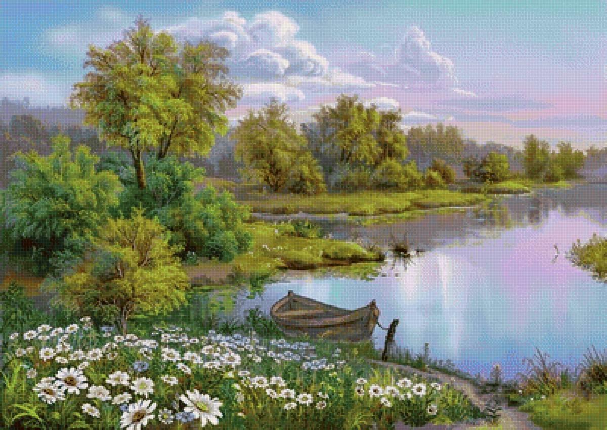 Красивые открытки с пейзажами на каждый день