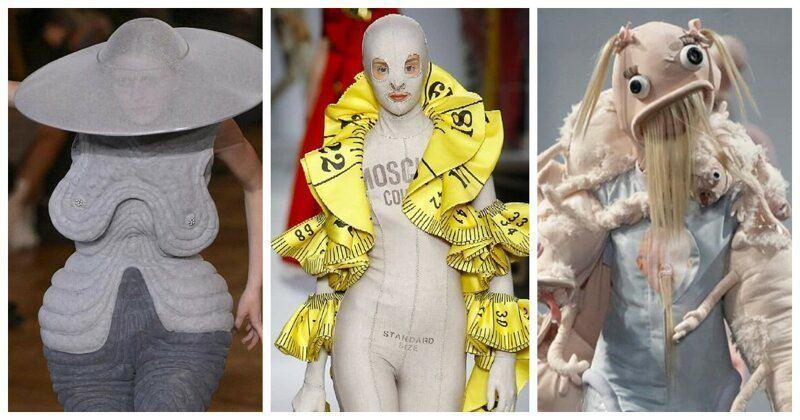 Бредовые модные показы (25 фото)