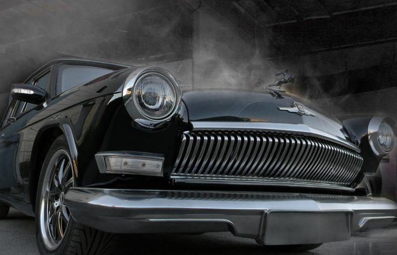 Мастера скрестили ГАЗ-21 с Mercedes (8 фото)