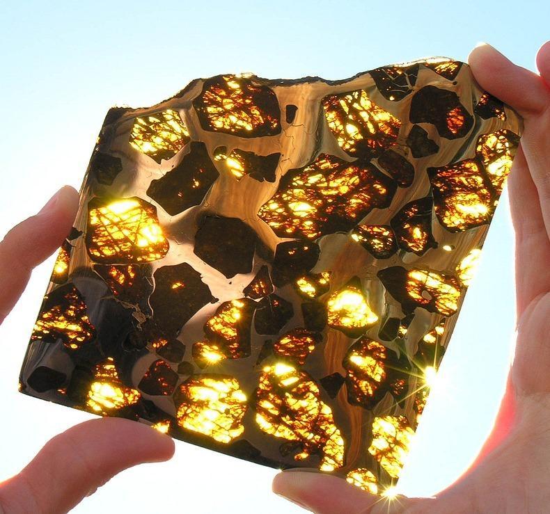 Метеорит Фукан, найденный в Китае