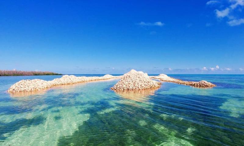 Удивительный природный остров на Карибах (11 фото)