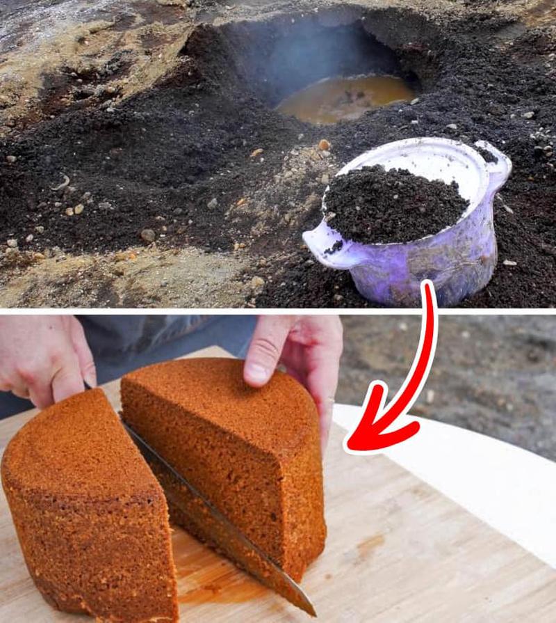 В Исландии есть традиция печь хлеб прямо в земле (фото дня)