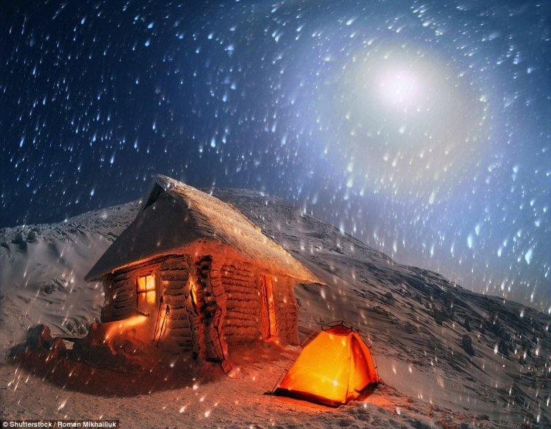 Где можно экстремально отдохнуть с палаткой