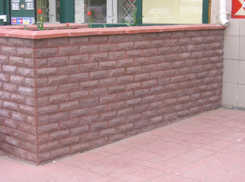 Фасадная бетонная плитка: дизайнеры рекомендуют