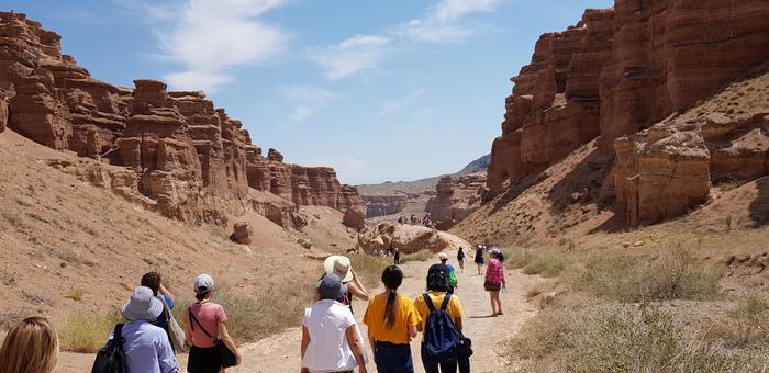 Новый парк в Чарынском каньоне