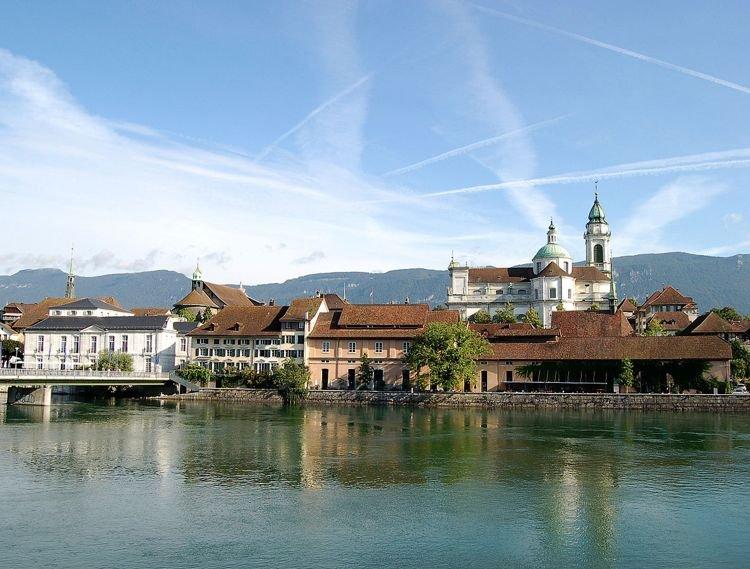 Золотурн: необычный швейцарский город, одержимый числом 11 (3 фото + видео)