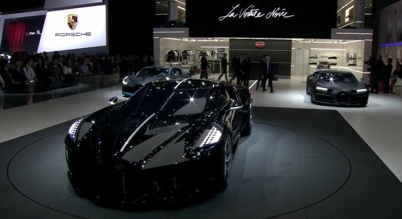 La Voiture Noire от Bugatti