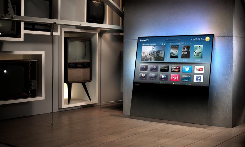 Необычные телевизоры в интерьере