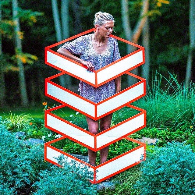 3D-иллюзии от Аакаш Нихалани