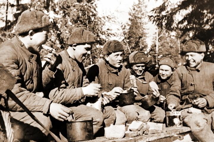 Чем кормили солдат русской армии