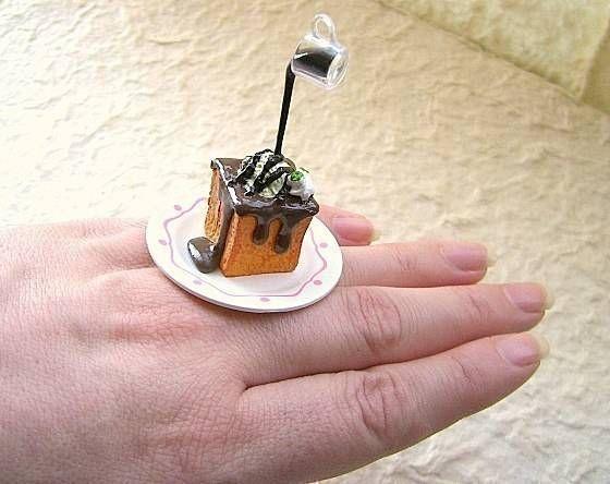 Кольца в виде еды (30 фото)