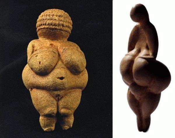 Женская красота в различные эпохи человечества