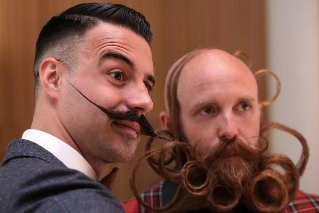 Конкурс среди бород и усов в Антверпене (15 фото)