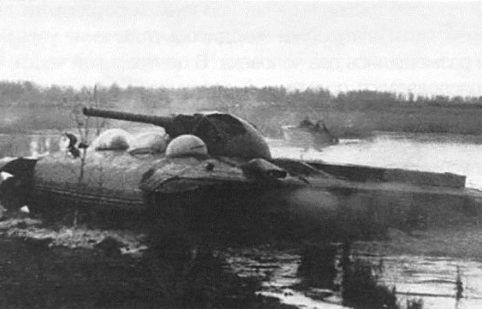 Танк СССР на воздушной подушке (6 фото)